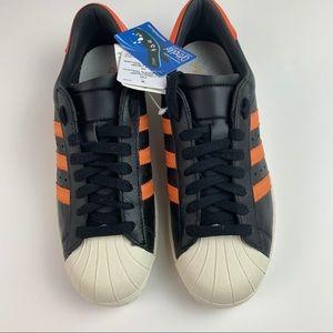 adidas Shoes - adidas Originals Superstar OG Black, Orange Shoes.